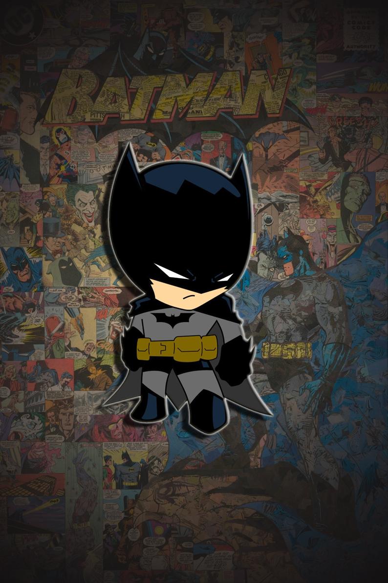 Pin By Yurfreds On Dc Batman Chibi Chibi Wallpaper Batman Wallpaper