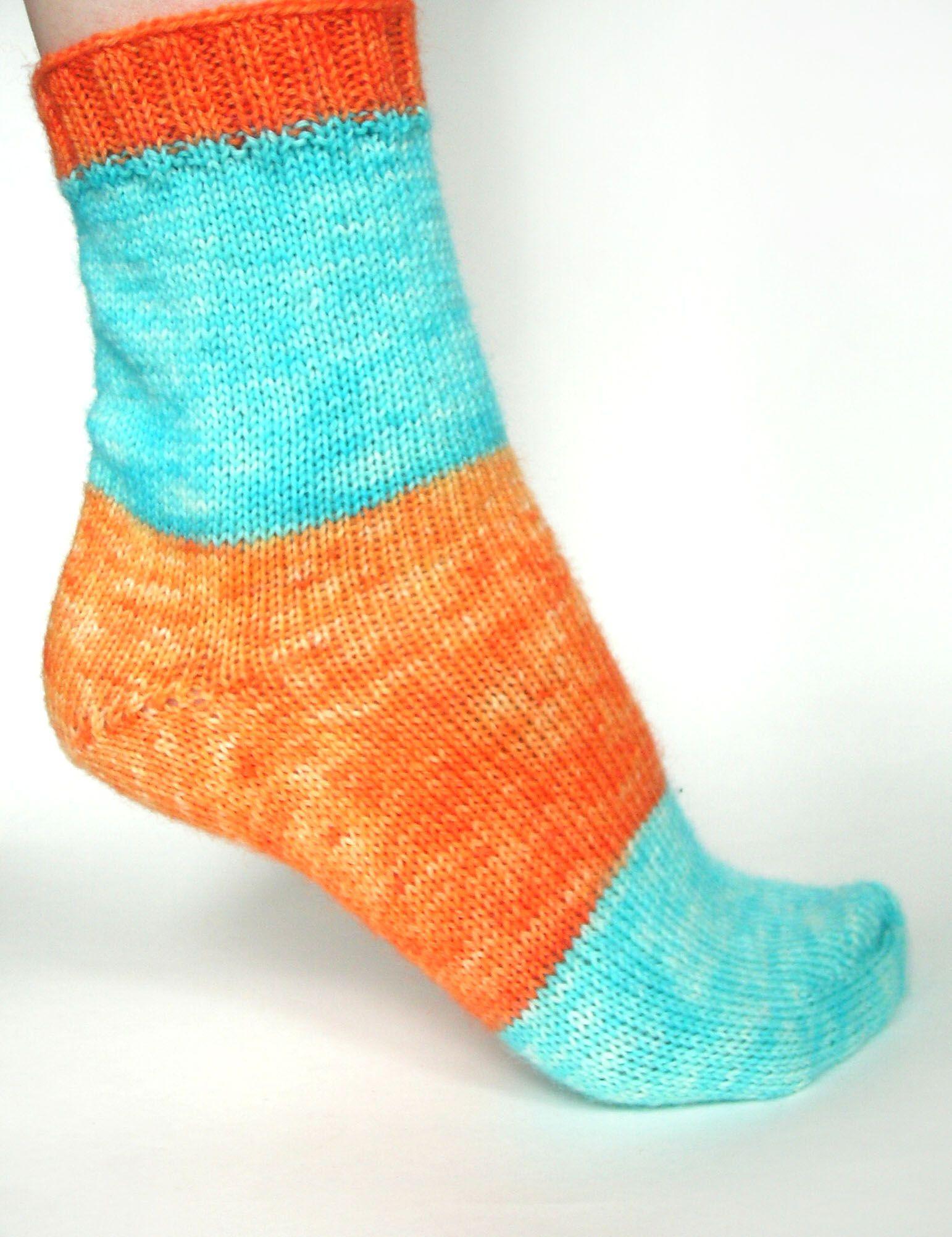 Self-striping Yarn sock. Kool-aid dyeing techniques. | Crochet ...
