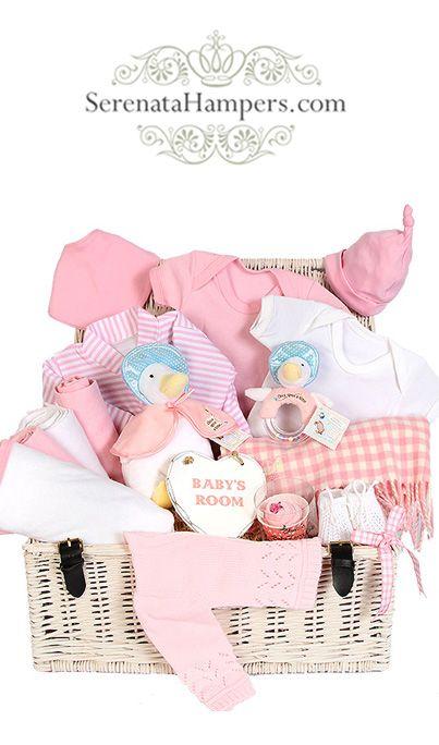 It`s A Girl! Luxury Hamper, #newbaby #babyhampers #luxuryhampers #babygirl #babybaskets