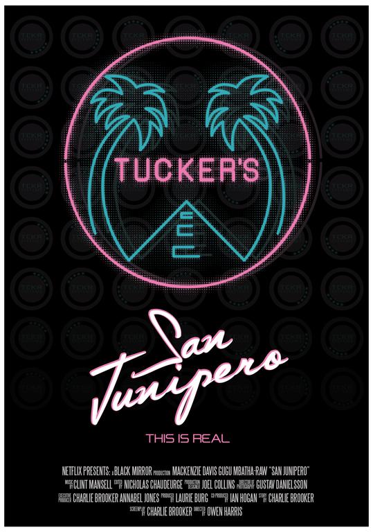 Inspired by Netflix Black Mirror Black Mirror Tucker/'s Of San Junipero T-Shirt