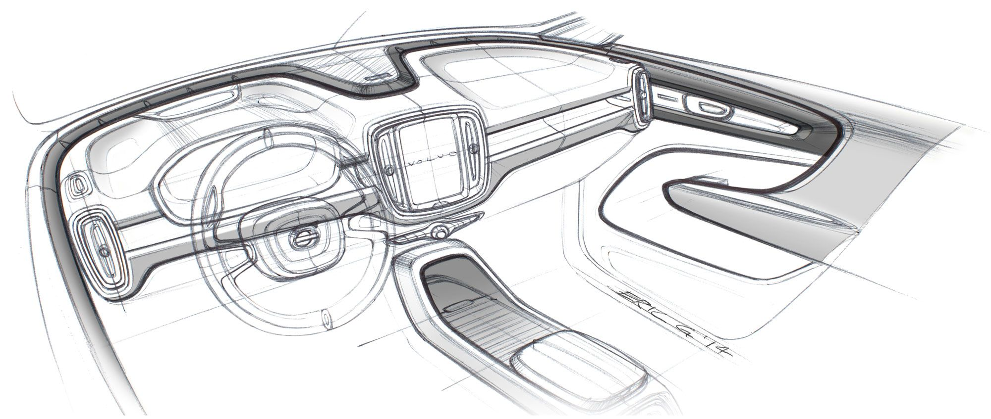 Pin By Josh Ortega On Car Design Interior Sketches Car