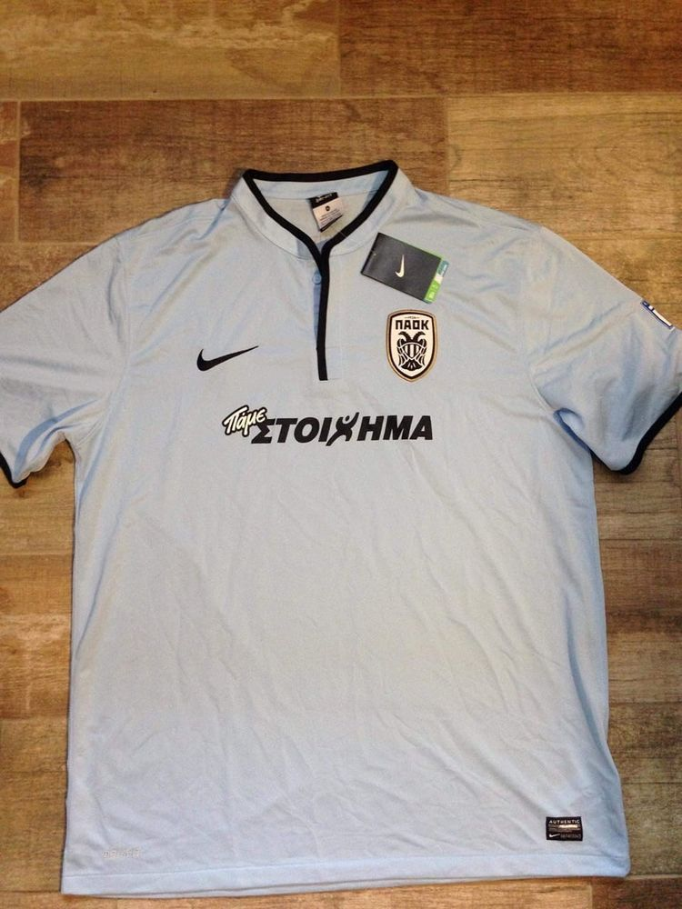 c39938096 Soccer PAOK FC Third Fußball Original Jersey Football Shirt 14 15 BNWT XL  Top  Nike  PAOKFC