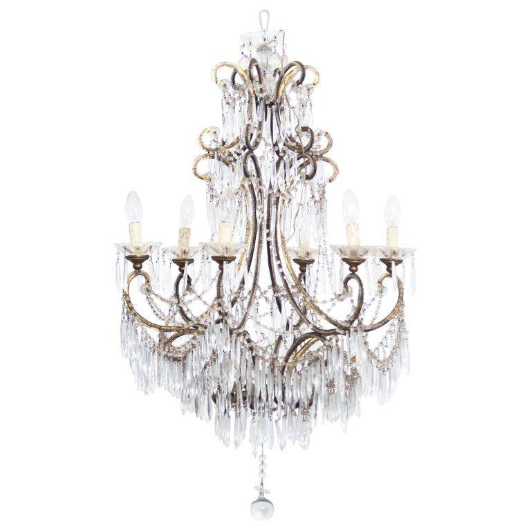 X.jpg (1280×1280) | Ribbon chandelier, Murano glass