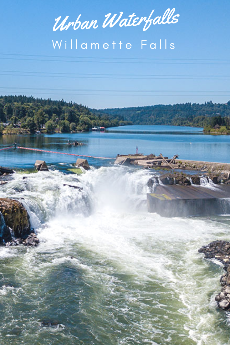 8 Places With Waterfalls Right In The Middle Of Town Oregon City Waterfall Outdoor Adventure