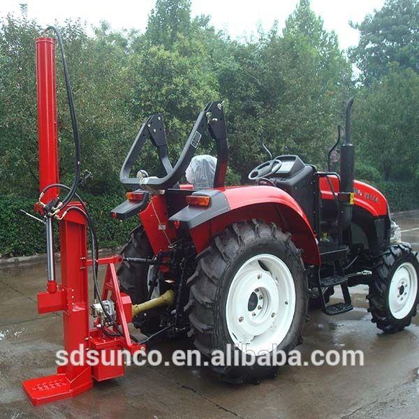 Log Splitter For Tractor Pto Driven Log Splitter Machine Log Splitter Tractors Splitters