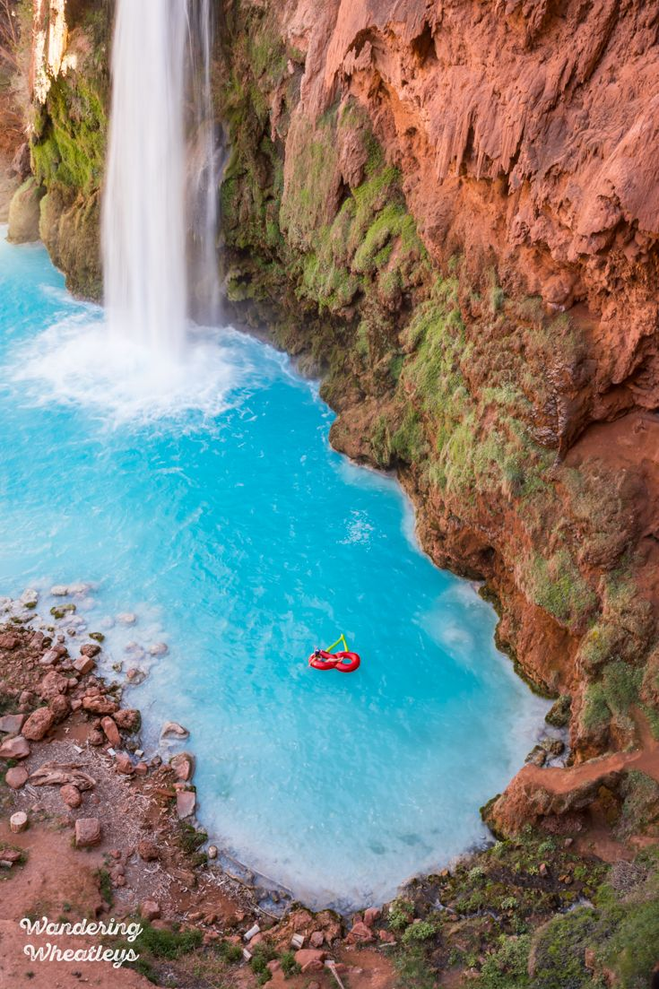Hike To Havasu Falls 2020 How To Get Permits When To Go What To Take Havasu Falls Havasu Falls Permit Float Trip