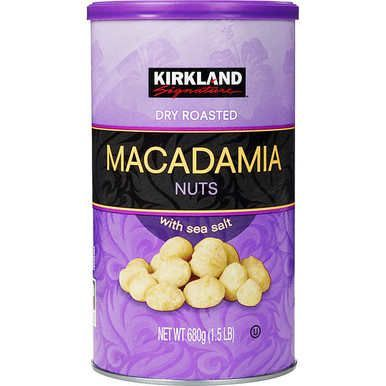 Kirkland Dry Roasted Macadamia Nuts 24 Oz Kirkland Food Food