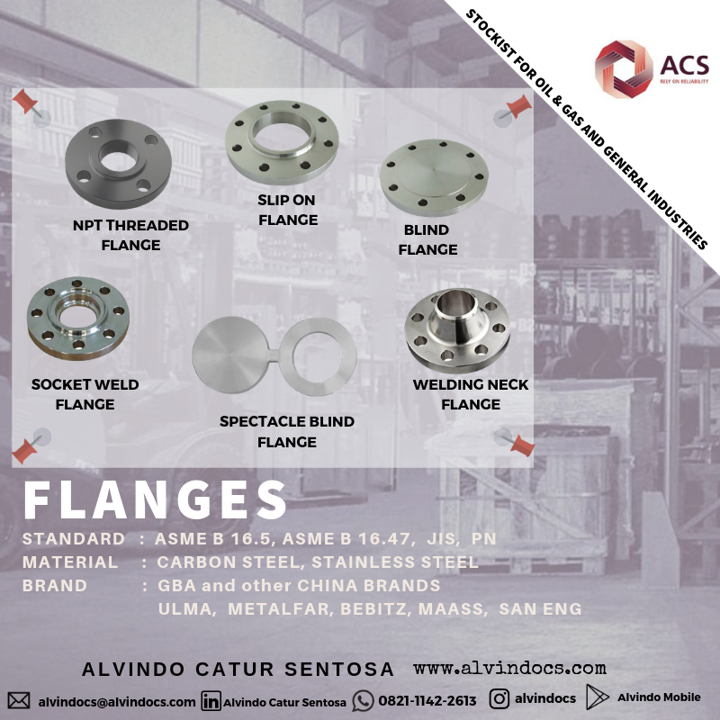 Pin di Pipe Fittings, Flanges & Valves
