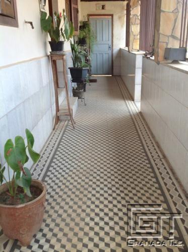 Cement Tiles Create A Bold Three Dimensional Effect In Tiradentes Tiles Cuban Tile Cement Tile