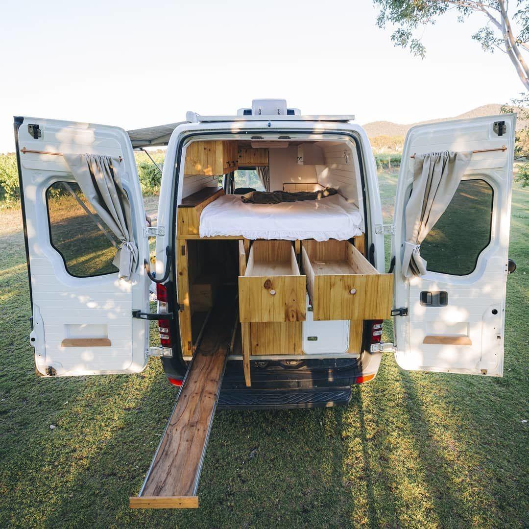 Bild Konnte Enthalten Himmel Und Im Freien Vanlifers Campingbus Kofferraum Ausbau