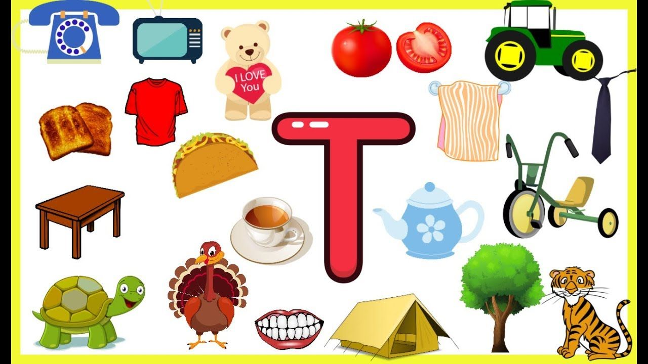 Letter TThings that begins with alphabet Twords starts