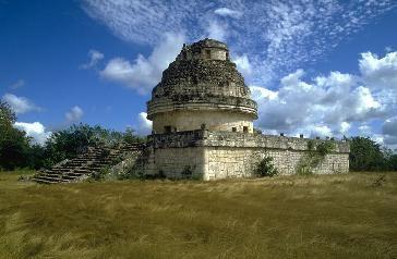 """El Caracol o el """"Observatorio"""" en Chichen itza"""