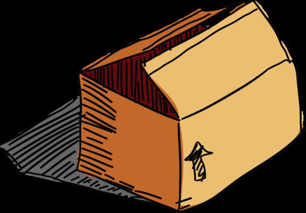 283ga Open Box Old Boxes Box Cardboard