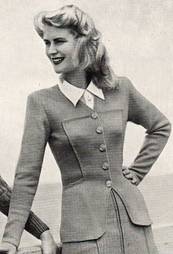 0696a485c9e2b0 Ravelry  Clarissa Tailored Jacket pattern by Patons Australia ...