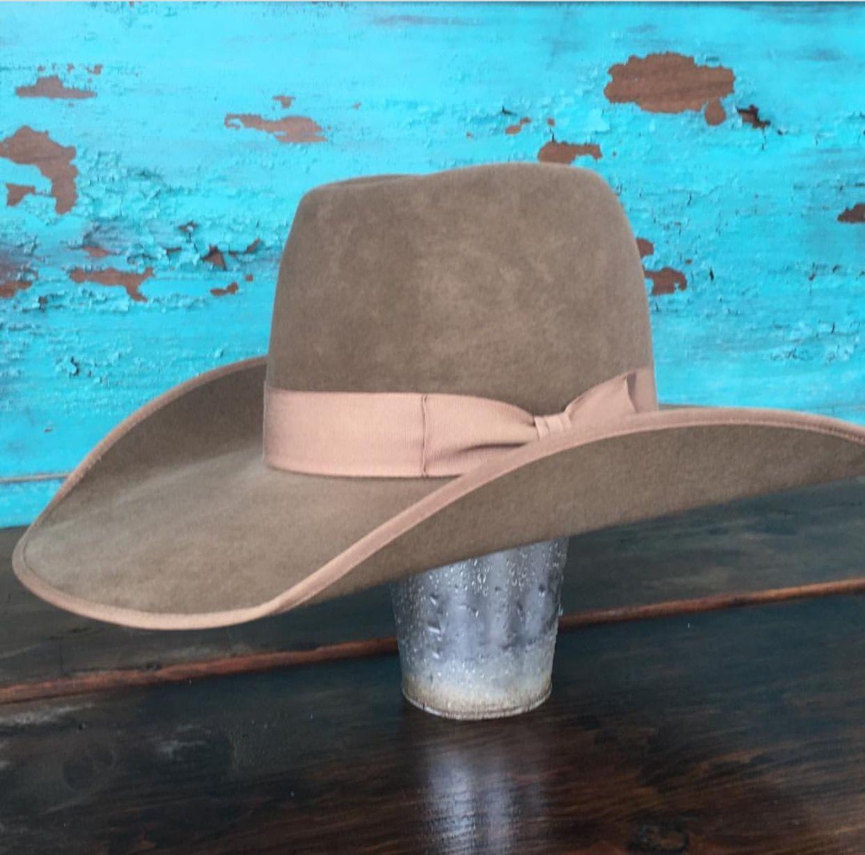 Custom Pecan 50x Great Basin Hat Co. greatbasinhatco.com  da2c2b5b2a2
