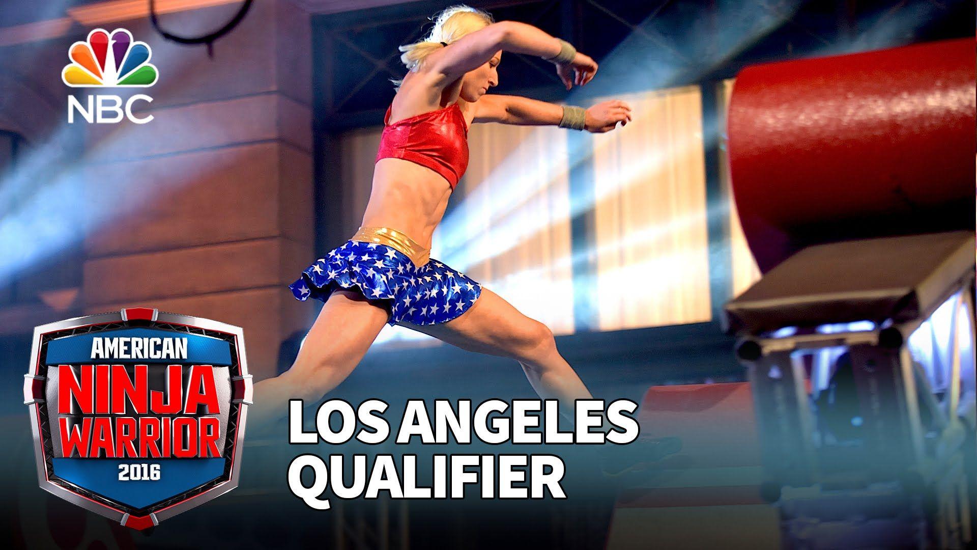 Jessie Graff At The Los Angeles Qualifier