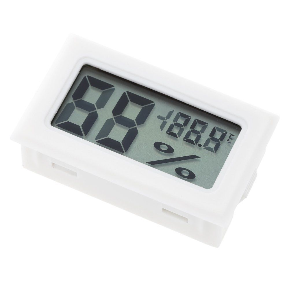 Home Mini Digital LCD Thermometer Hygrometer Humidity Temperature Meter Tester