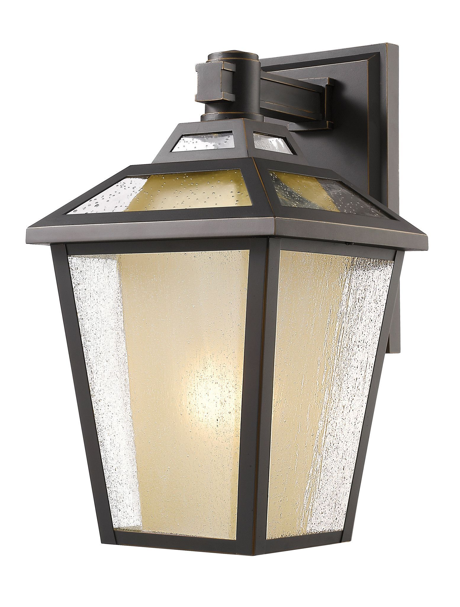 Z-Lite 532S-ORB Memphis 1 Light Outdoor Wall Light