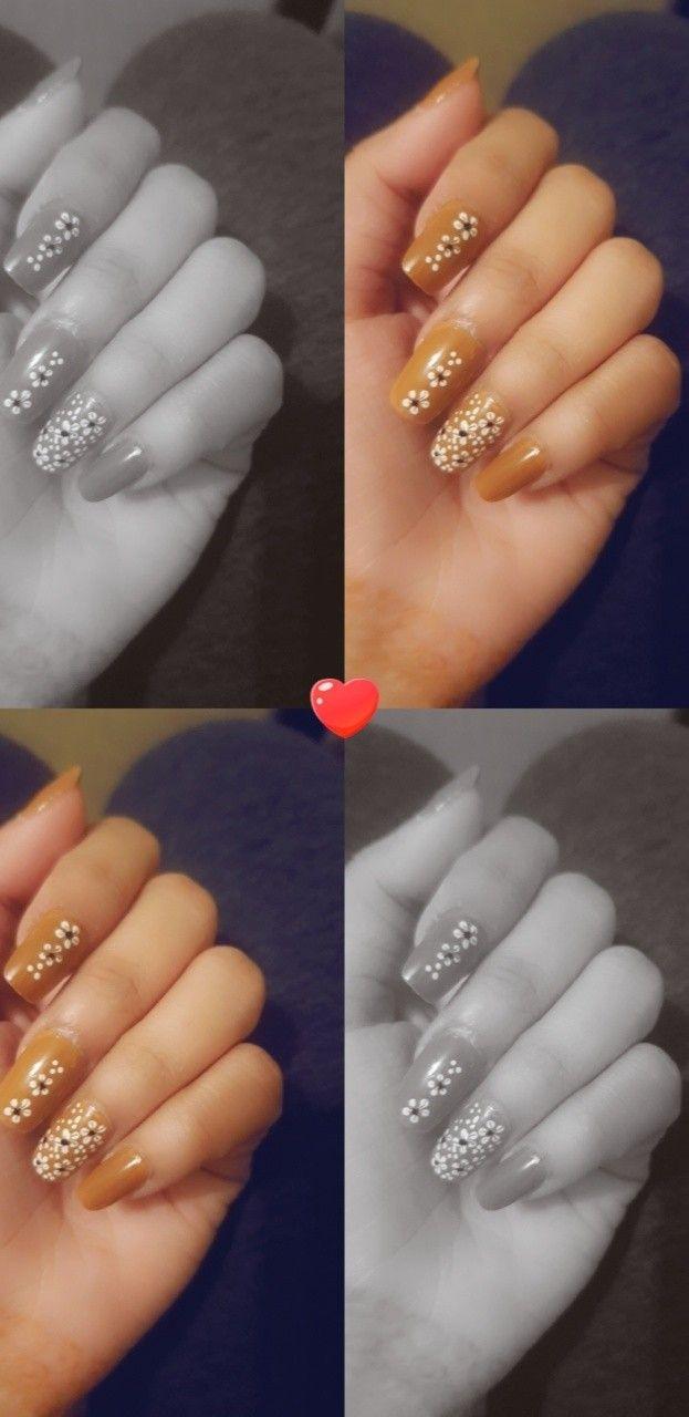 Pin By Hamsa Gamal On Nails In 2020 Henna Nails Photo Ideas Girl Cute Girl Photo