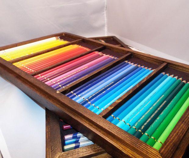 Stackable Pencil Trays Pencil Organizer Diy Tray Diy Pencil