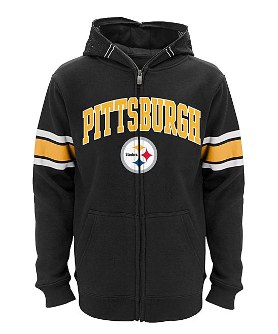 quality design 4c89d 5d370 Pittsburgh Steelers Zip-Up Hoodie - Boys | Products ...