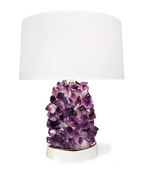 Purple Table Lamps