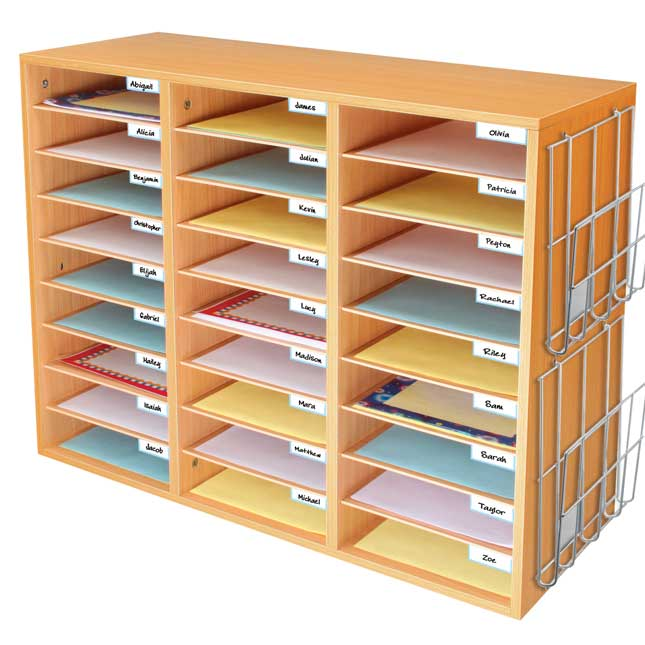 Really Good Classroom Mail Center With Paper Holders 1 Mail Center 2 Wire Racks Mail Center Classroom Mailboxes Really Good Stuff