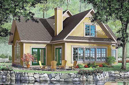 Plan 21056dr Charming Entry Porch Farmhouse Style House Plans Country Style House Plans Vacation House Plans