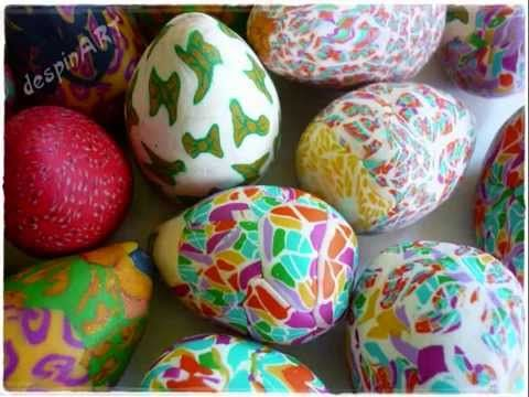 Polymer clay tutorial : Easter eggs