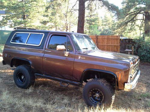 1977 Chevy K5 Blazer 1977 K5 Blazer Cheyenne Us 7 500 00 Image 3 K5 Blazer Classic Chevy Trucks Chevy Trucks