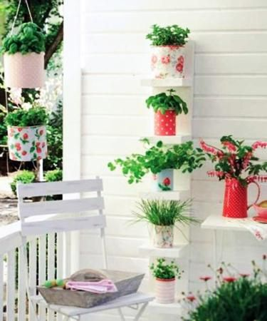 22 smart balcony designs with space saving furniture and for Tendedero jardin
