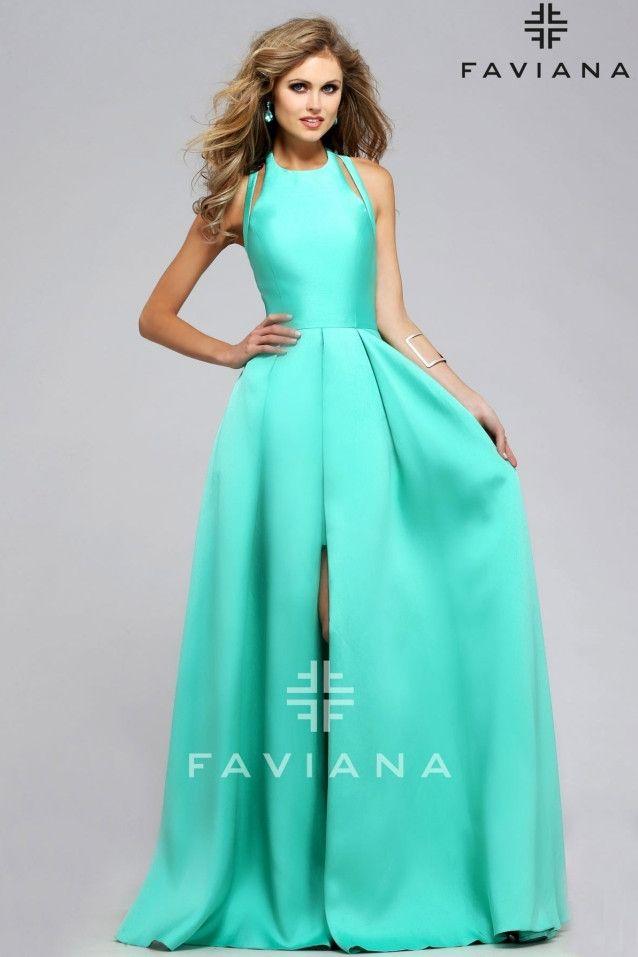 Con Fiesta Largo Falda Turquesa Y Color Mini Sobre Evasé De Vestido UfwZq