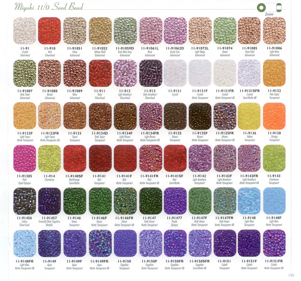 Seeds color chart choice image free any chart examples seeds color chart image collections free any chart examples miyuki delica color chart image collections free nvjuhfo Images