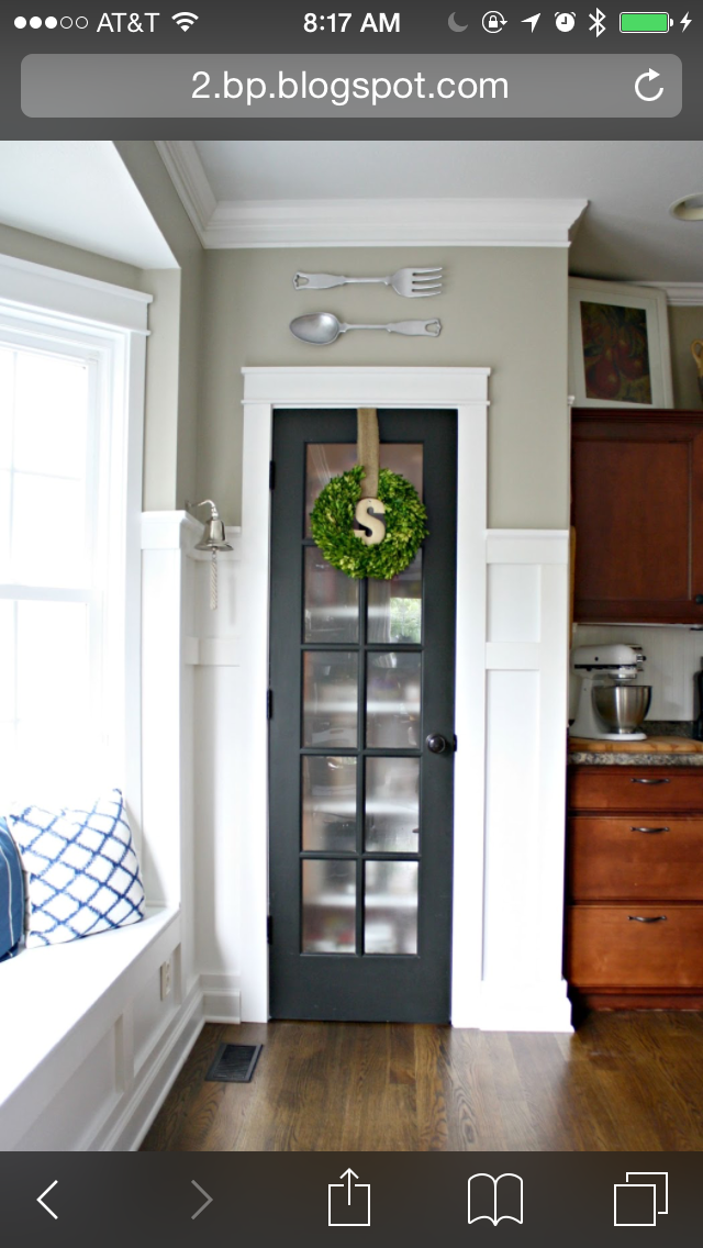 Pantry Project Replace Door With Glass Door And Privacy Film For
