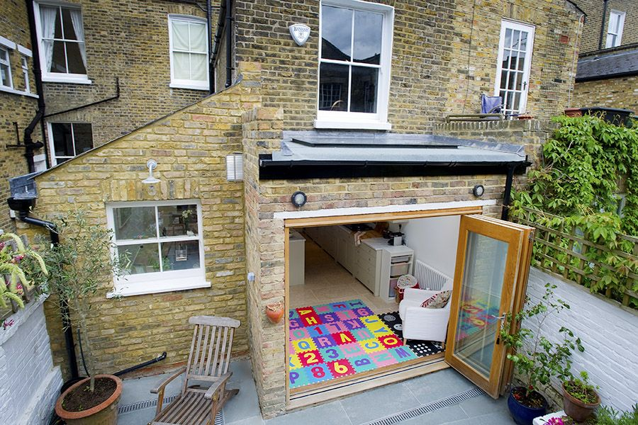 Stockwell In Stockwell, Greater London, Side Extension, Kitchen Extension,  Victorian Terraced House