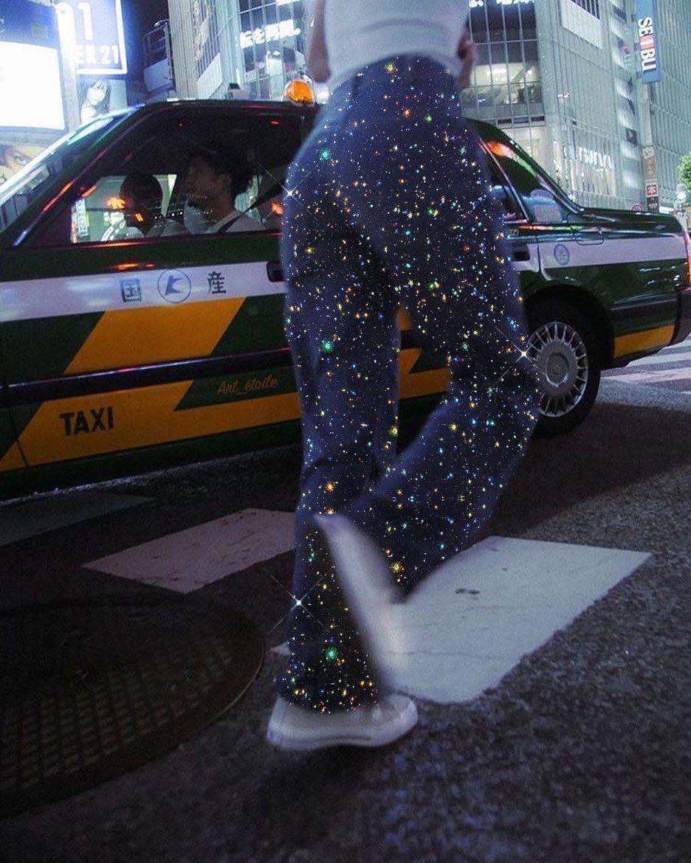 Magic étoiles Glittery queue