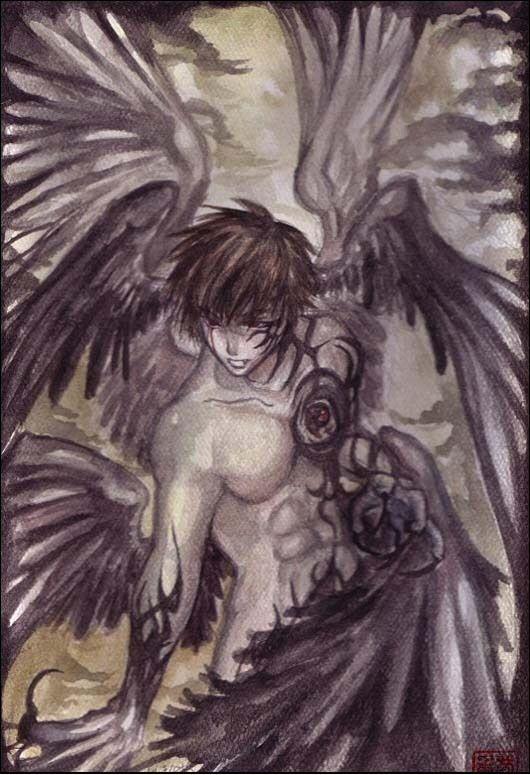 Anime Drawings Anime Art Angel Wing By Kilwhaki94 On