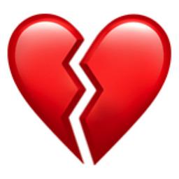 The Broken Heart Emoji On Iemoji Com Broken Heart Emoji Broken Heart Tattoo Broken Heart Pictures