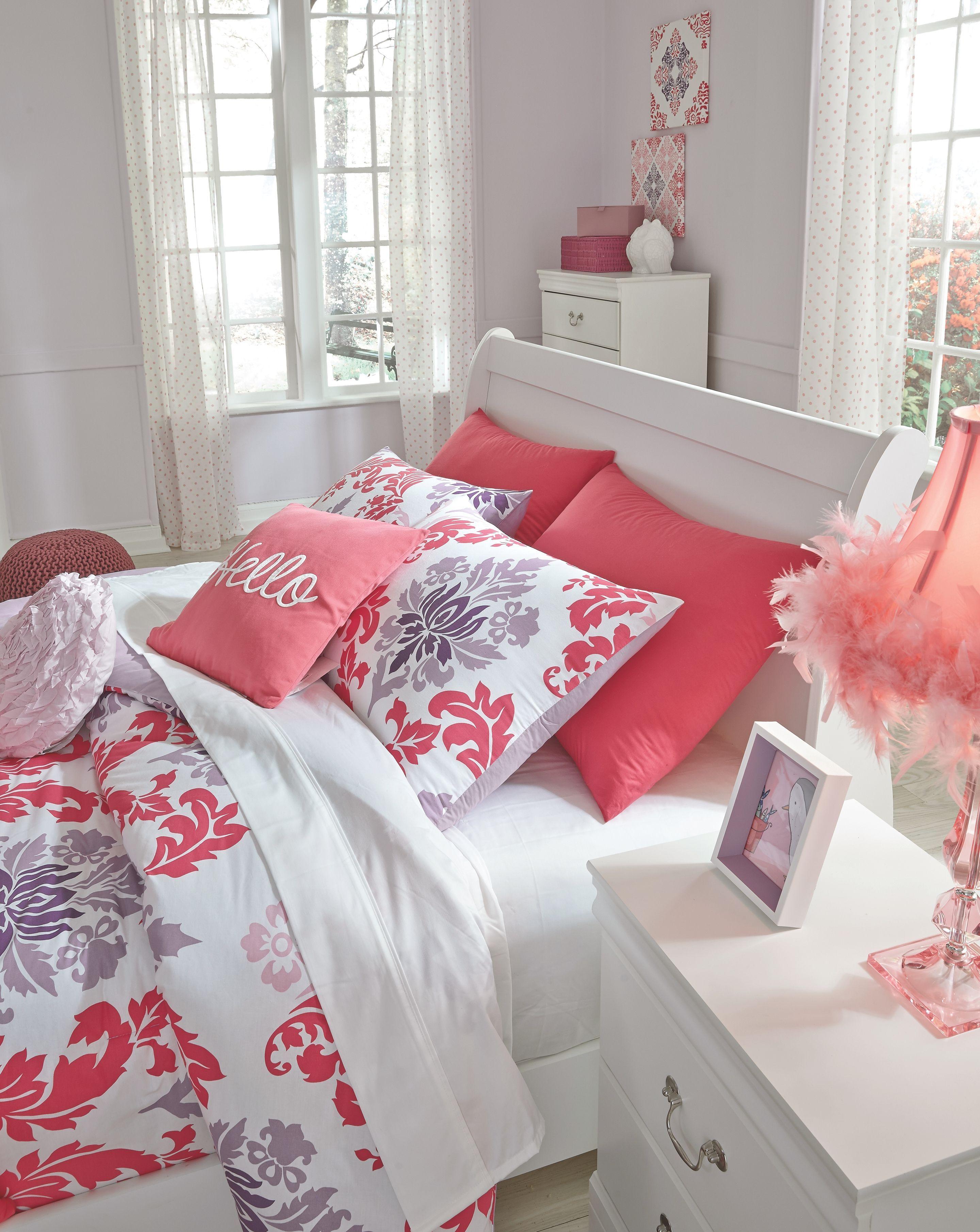 Best Anarasia Full Sleigh Headboard White Bedroom Decoration Cheap In 2019 Bedroom Decor White 400 x 300
