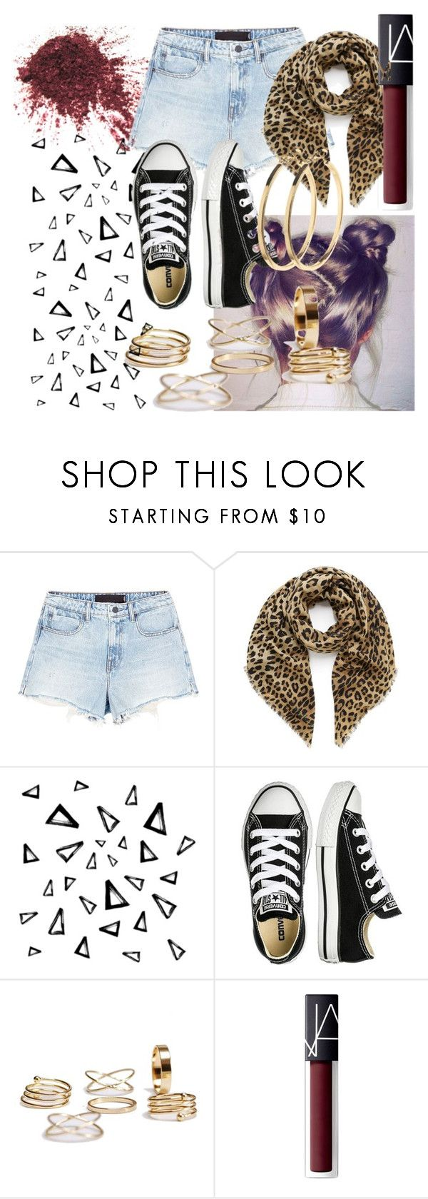 """Dressing Is A Way Of Life"" by lexi-lovegood ❤ liked on Polyvore featuring Alexander Wang, Mulberry, Nika, Converse, NARS Cosmetics and Pieces"