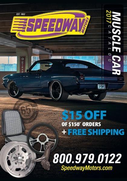 Muscle Car Catalog 2017