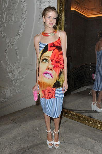 Elena Perminova Photos: Jean-Paul Gaultier: Front Row - Paris Fashion Week Haute Couture F/W 2013