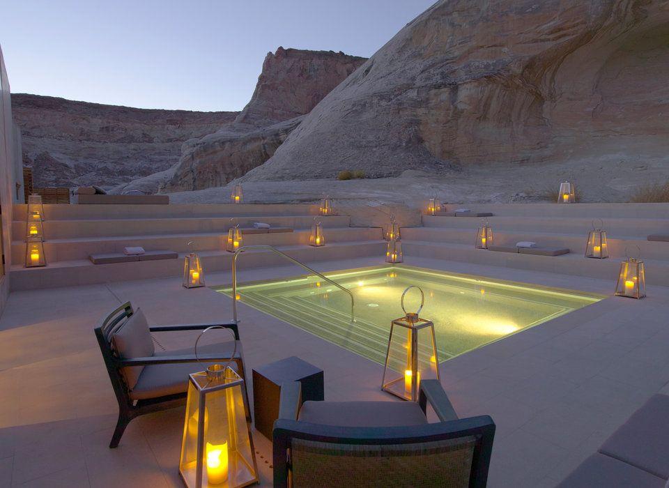 Amangiri Water Utah Hotels Romance Sky Screenshot