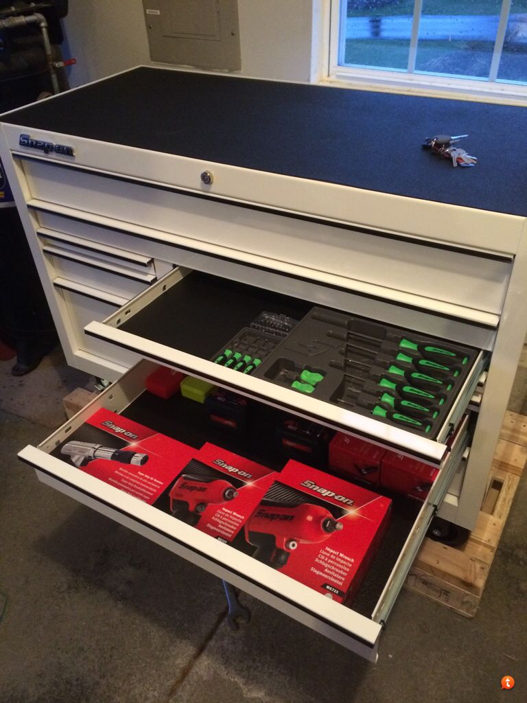 snap on classic 78 white snap on tools garage tools. Black Bedroom Furniture Sets. Home Design Ideas