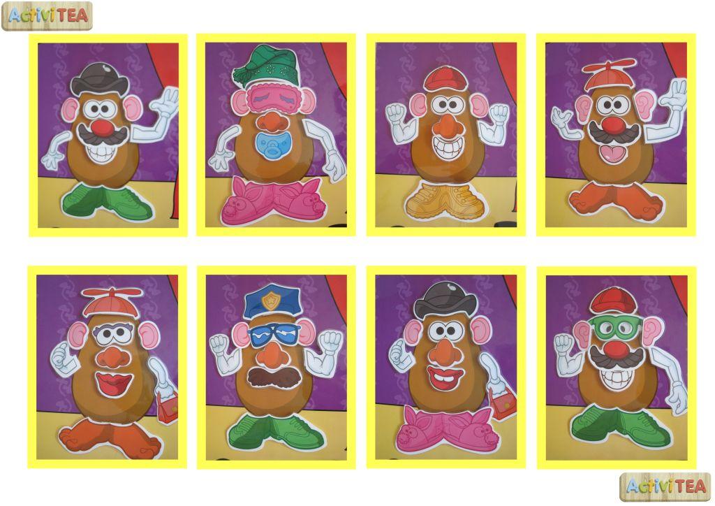 Mr. Potato y otros - activiTEA