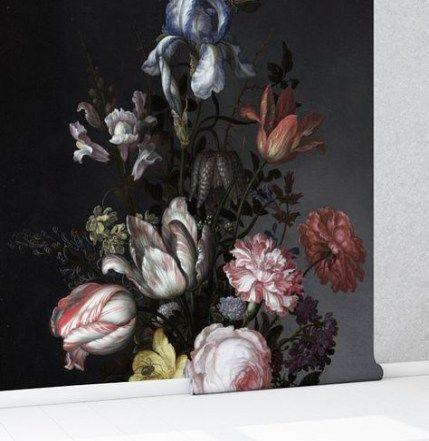 Best 58 Ideas Bedroom Dark Romantic Bedroom Vintage Floral 640 x 480