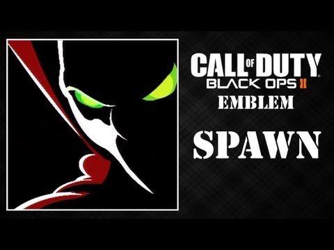 Black Ops 2 Spawn Emblem Tutorial Black Ops Spawn Black