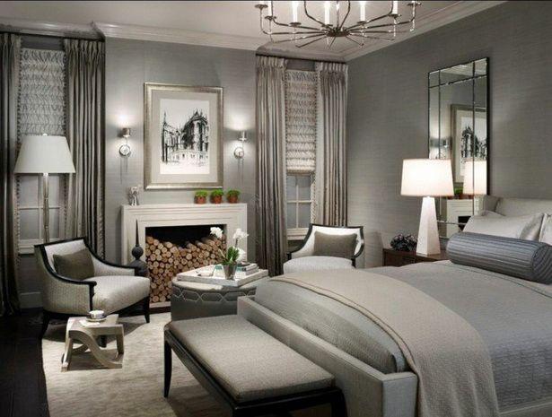 Fesselnd Schlafzimmer Gestalten Grau