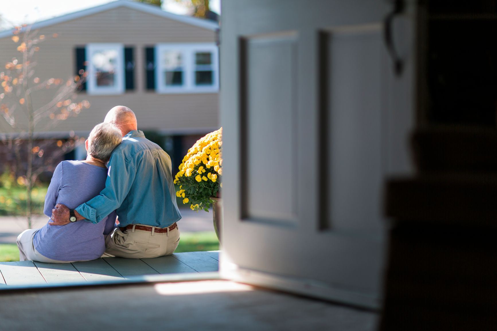 Mutual of Omaha Hugging couple, Aging in place, Tax