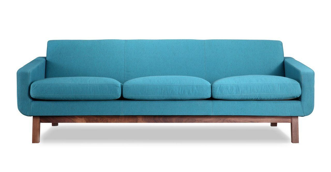 amazon: kardiel platform mid-century modern classic sofa
